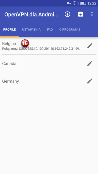 Android OpenVPN VPN