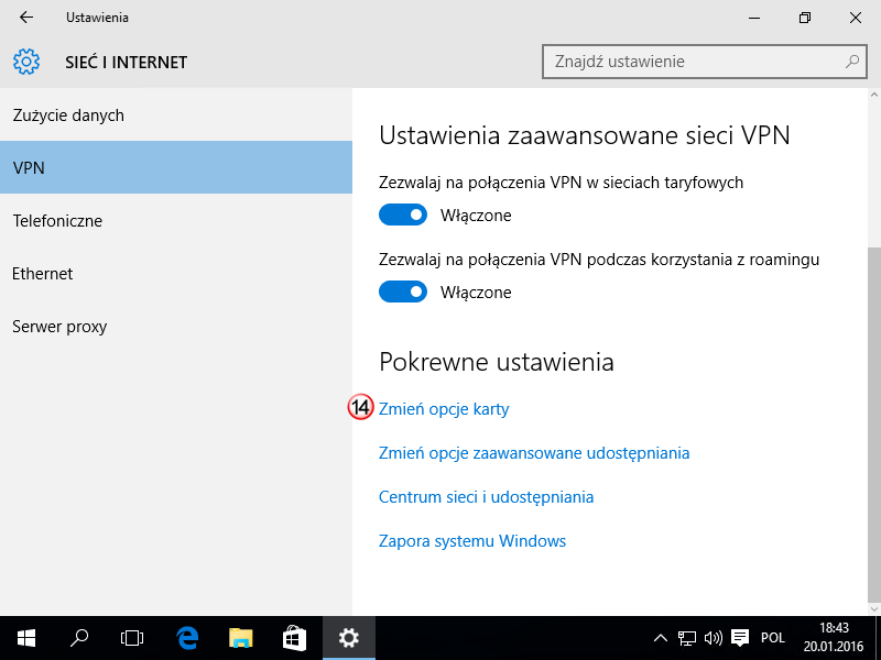 Windows 10 L2TP VPN