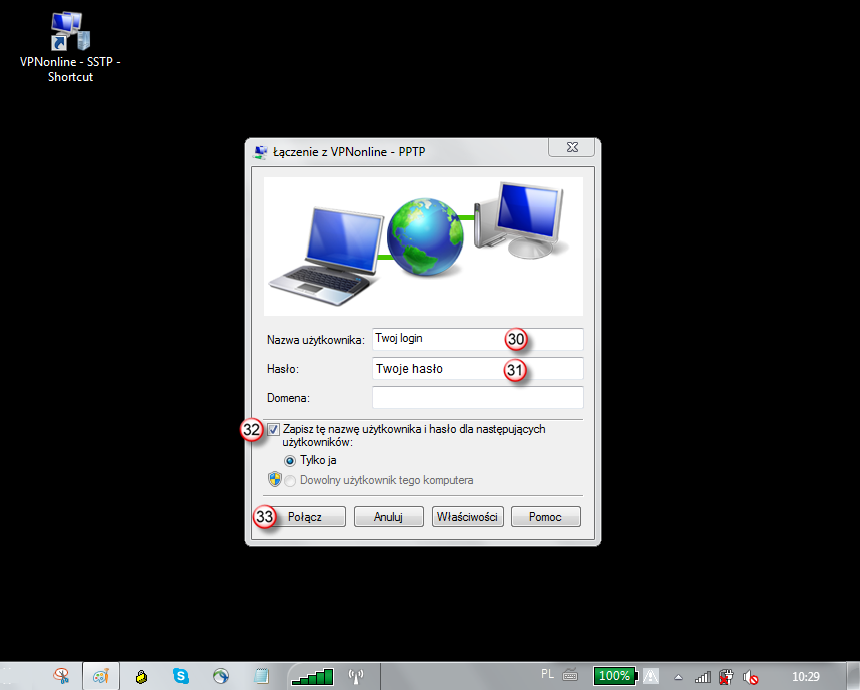 Windows 7 SSTP VPN