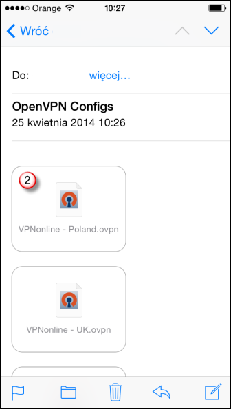 iPhone OpenVPN VPN